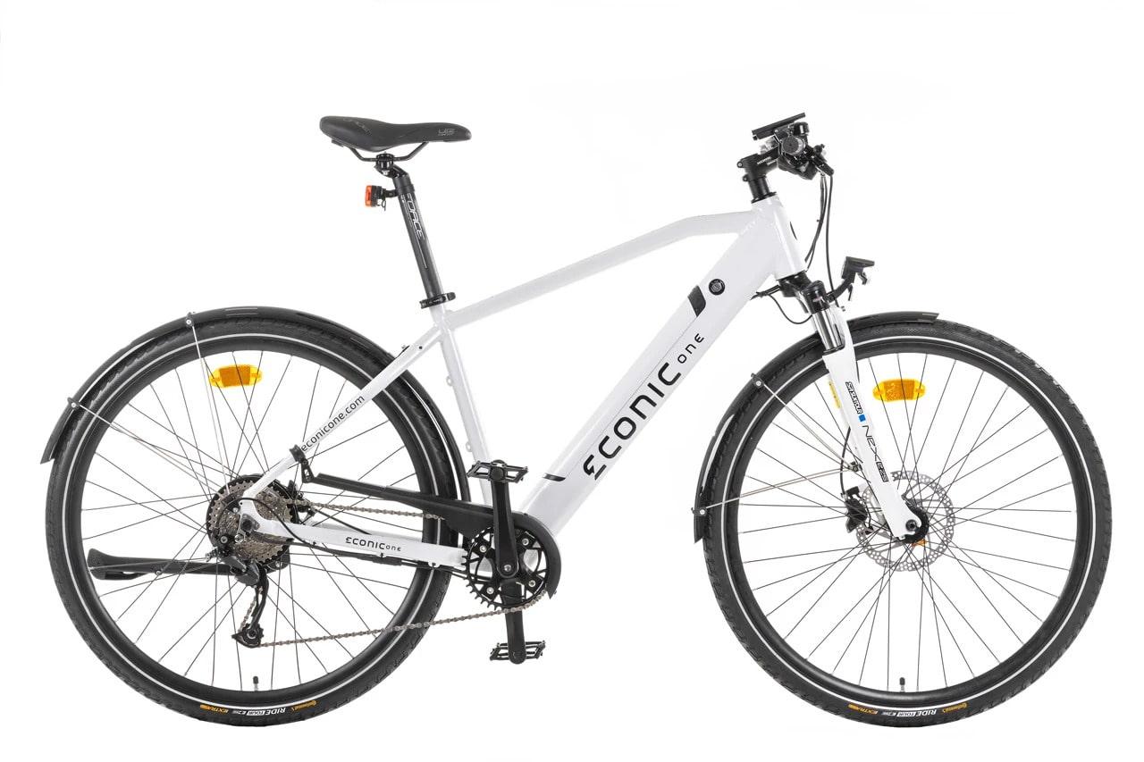 Sportieve Elektrische Fiets Heren Econic One Urban M 44cm Wit