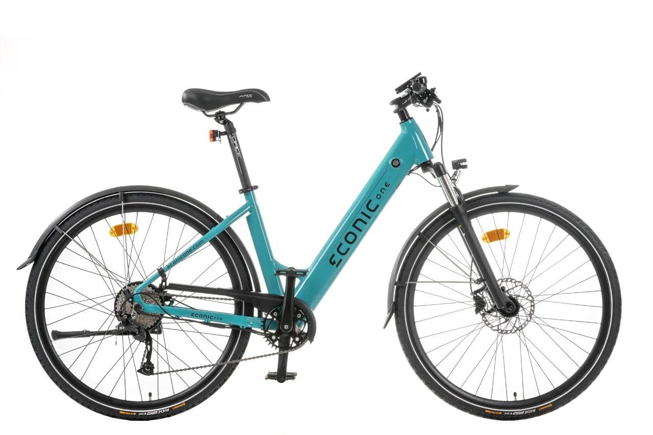 Sportieve Elektrische Fiets Dames Econic One Comfort M 44cm Turquoise