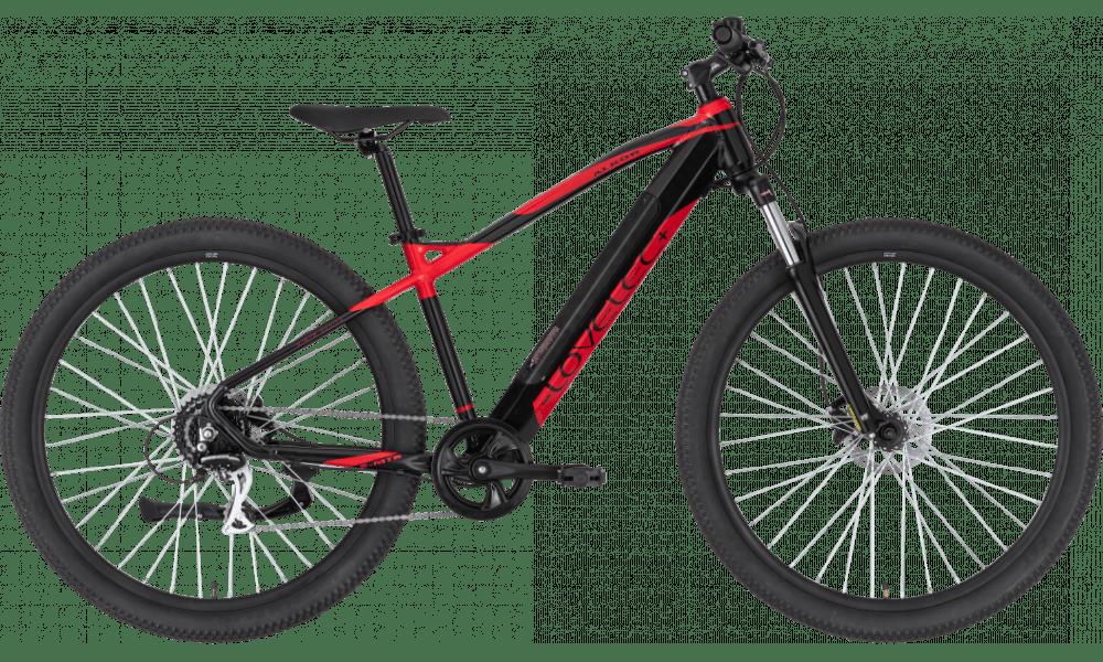 "Elektrische Mountainbike 29 Inch Lovelec Alkor Rood 14.5ah 17"""