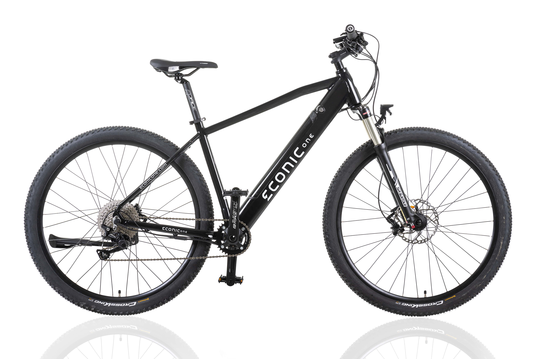 Elektrische Mountainbike Econic One Cross-Country XL 52cm Zwart