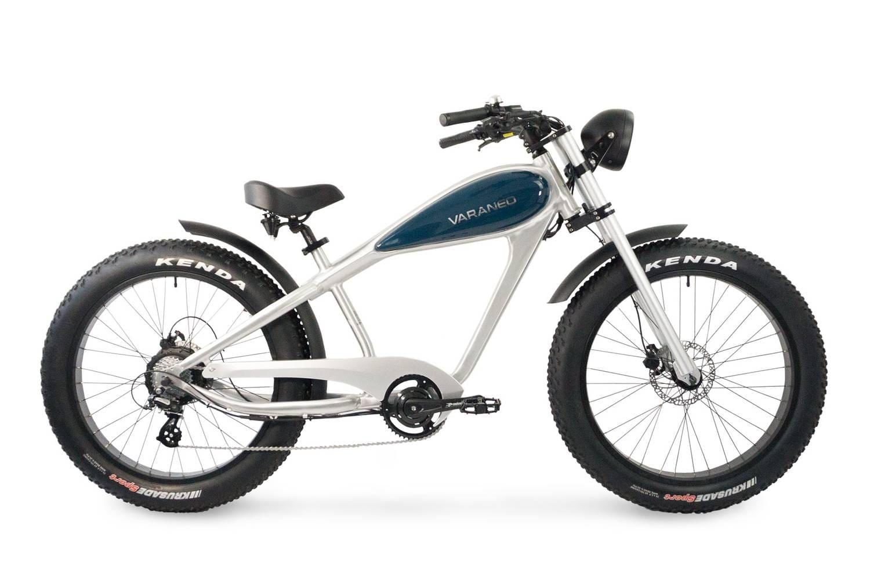 Elektrische Chopper fiets fatbike Varaneo Cafe Racer Aluminium