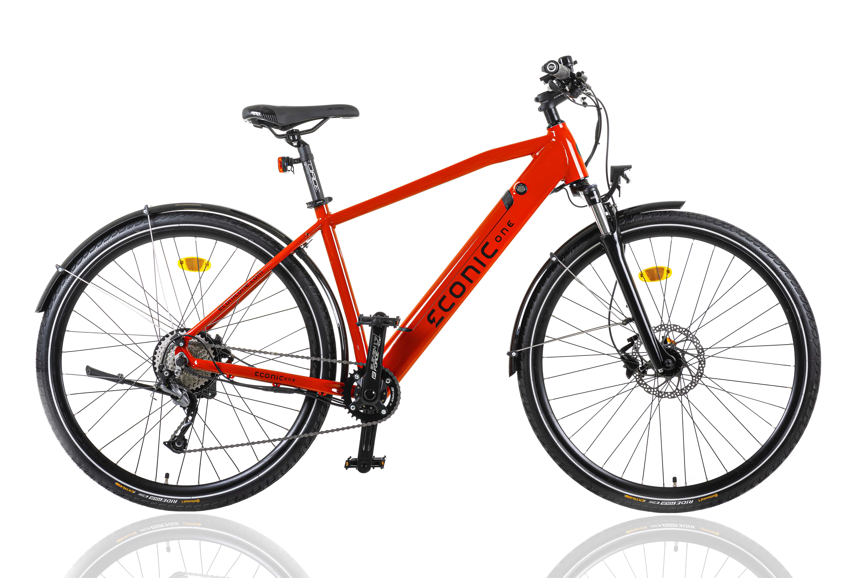 Sportieve Elektrische Fiets Heren Econic One Urban M 44cm Rood