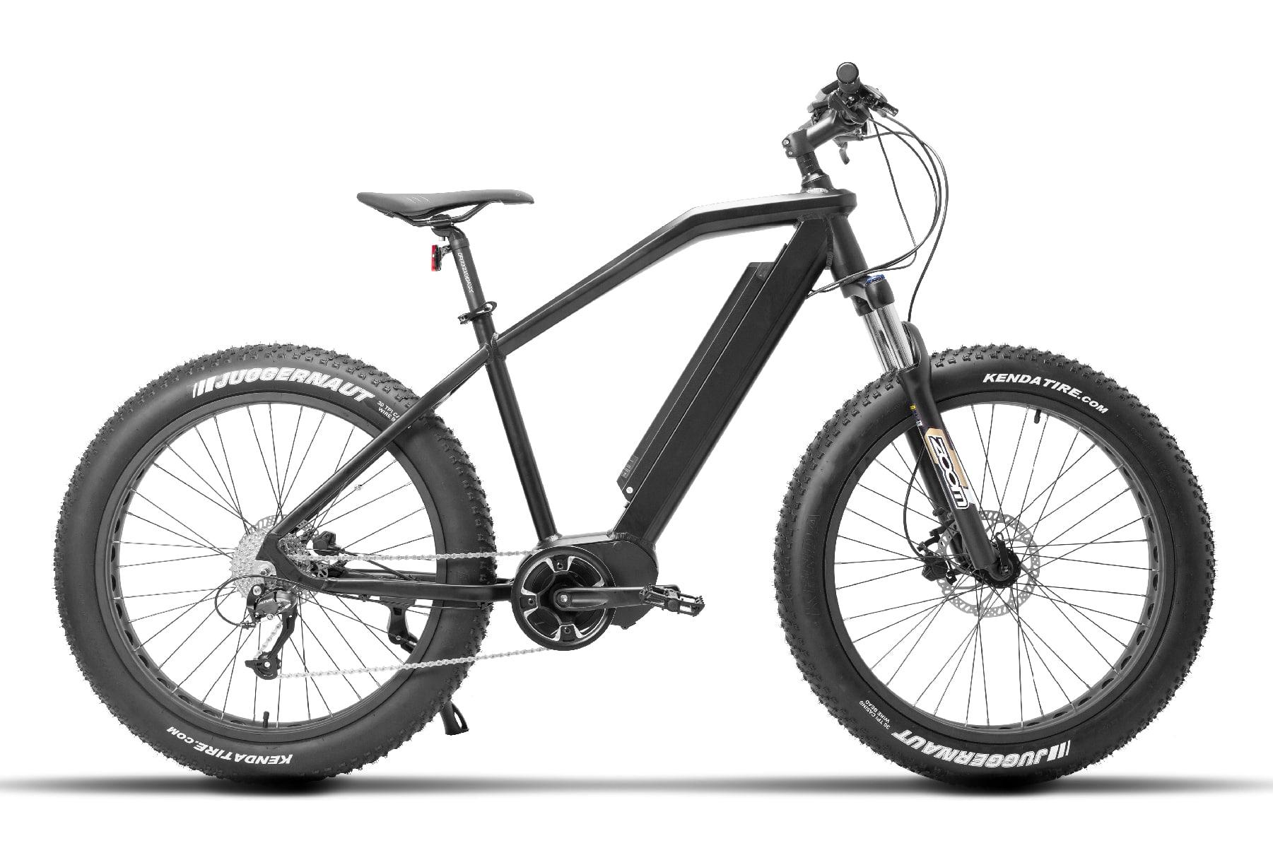 Elektrische Fatbike Mountainbike Falcon zwart