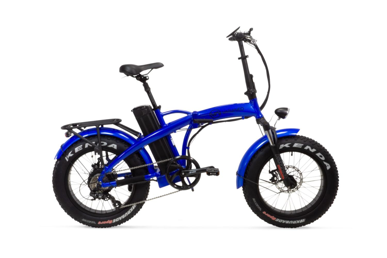 Elektrische fatbike vouwfiets 20 Inch Varaneo Dinky Sport blauw